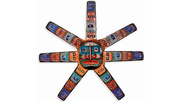 Large Sun Mask by Jimmy Joseph (Kwakwaka'wakh).
