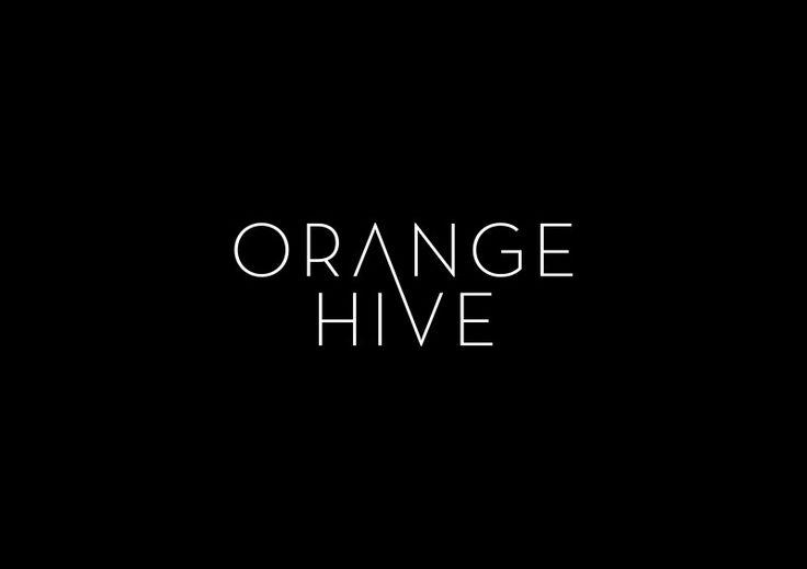 Orange Hive Identity — Minimalissimo