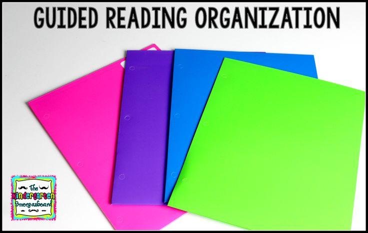 The Kindergarten Smorgasboard: Guided Reading Organization