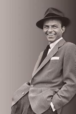 Frank Sinatra Suit Fedora Poster 24x36