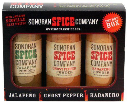 Ghost Pepper - Habanero - Jalapeno 3.75 Oz Powder Gift Box