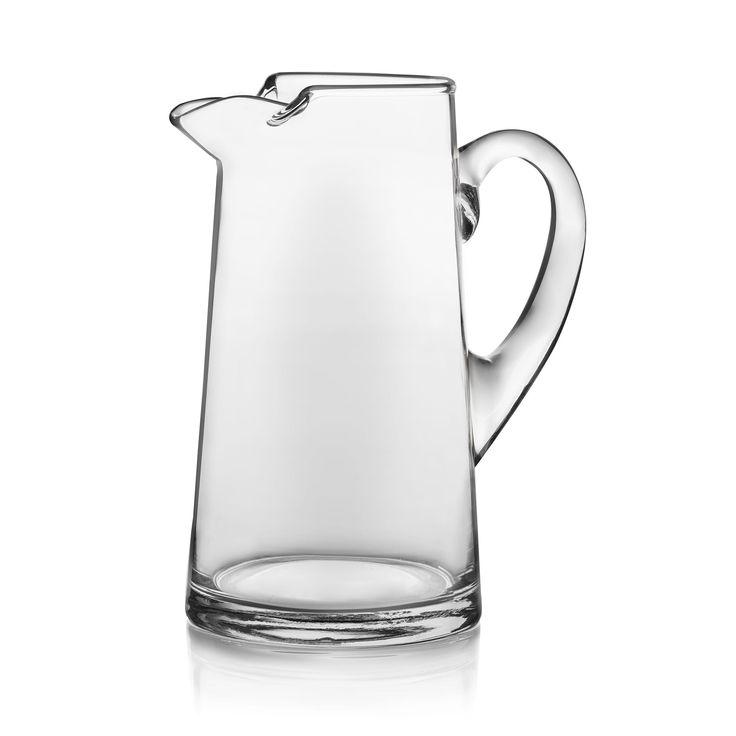 Crisa Libbey Baja Glass Pitcher, Clear