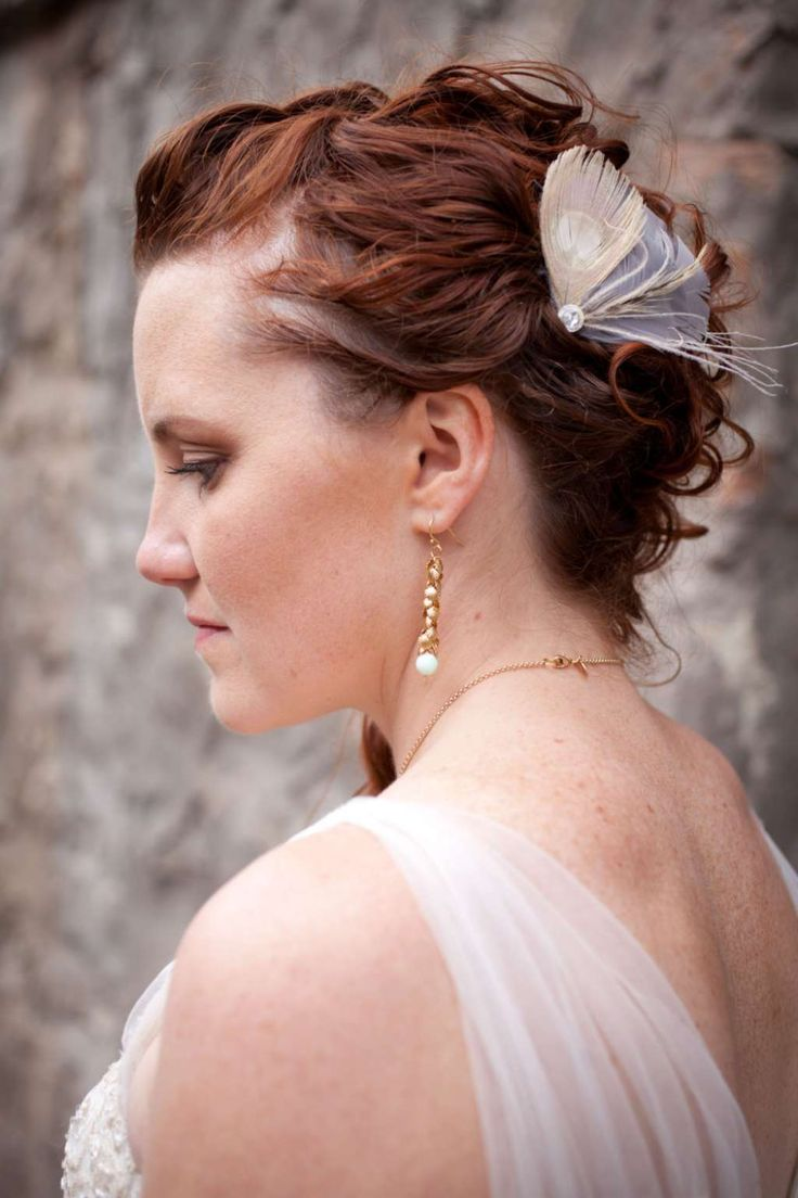 Wedding hairstyle - pinned curls :: one1lady.com :: #hair #hairs #hairstyle #hairstyles