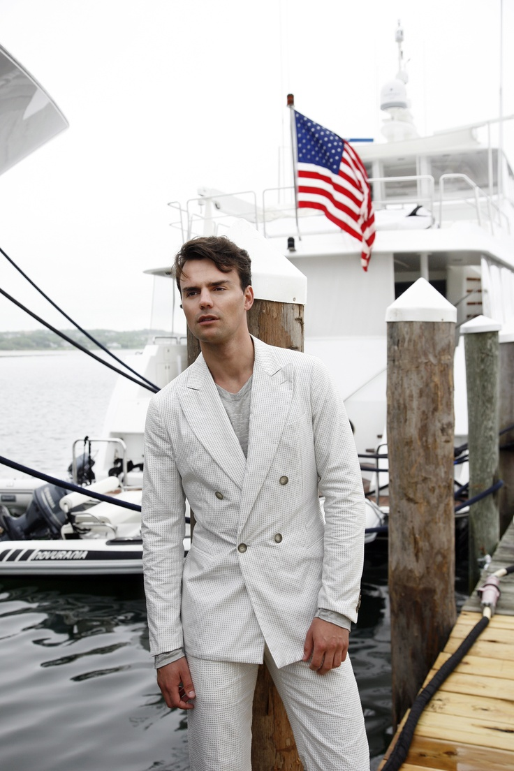Giorgio Armani Celebrates July 4th At The Montauk Yacht Club