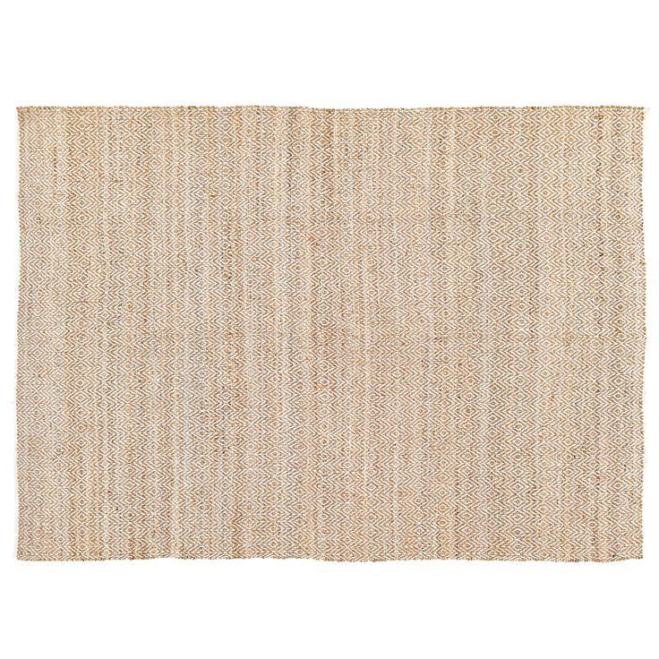 Zuma Natural Jute Amp Cotton Handwoven 96 X 132 Rug