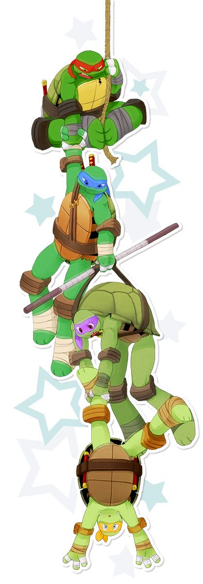 Hanging on by PUWAPUNA on deviantART  Raph: HOW did you even get there Mikey?!? - <3 - Trippy-Tees