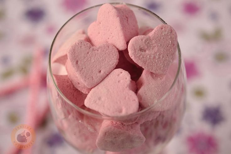 Sour cherry flavoured marshmallows for Valentine's Day | Flickr - Photo Sharing!