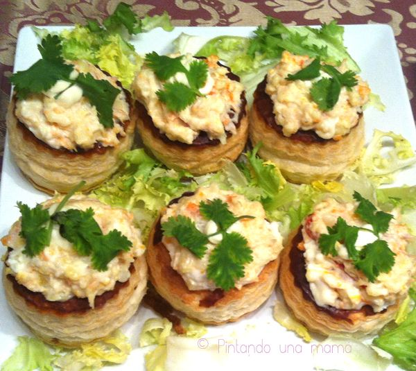 1000 images about vol au vent on pinterest vol au vent - Rellenos de volovanes ...