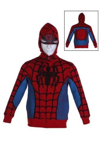 Spiderman zip up hoodie