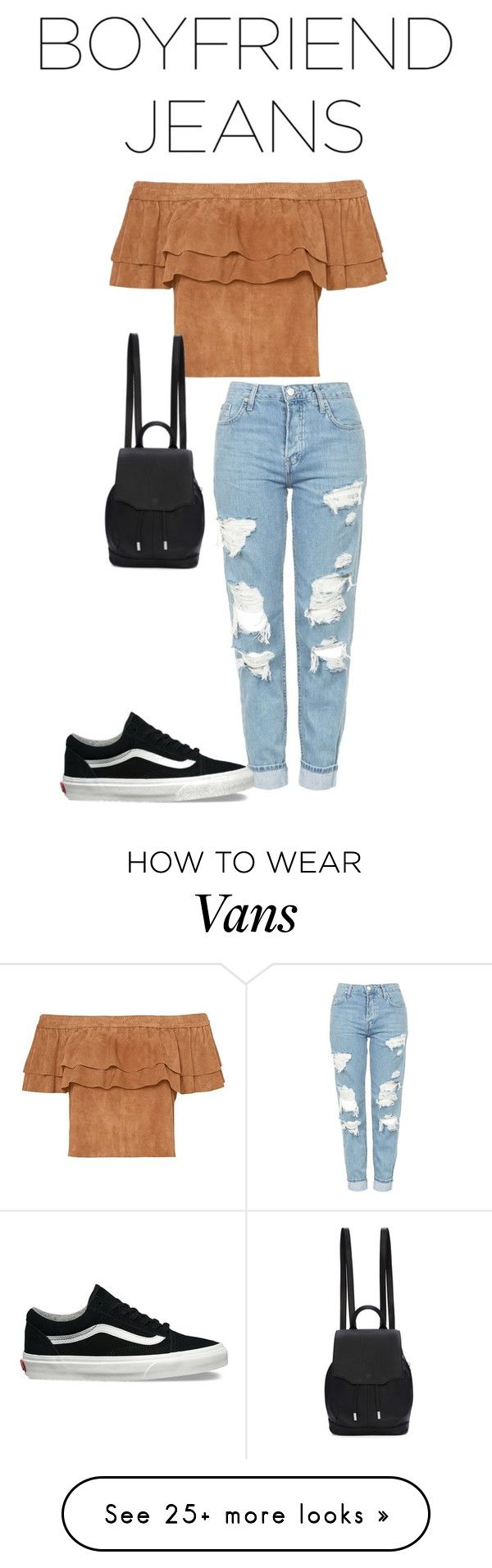 """""""Untitled #181"""" by stylebytwo on Polyvore featuring Topshop, Vans and rag & bone"""