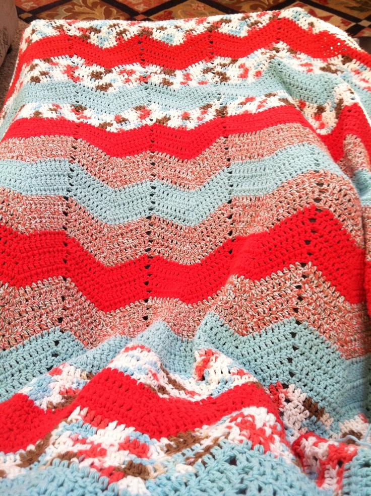 Crochet Ripple Blanket : crochet blankets