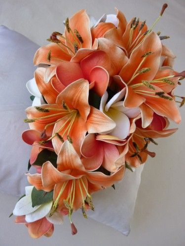 OMG! I am in LOVE with the tiger lily / plumeria combination!!!! I bet these smell HEAVENLY