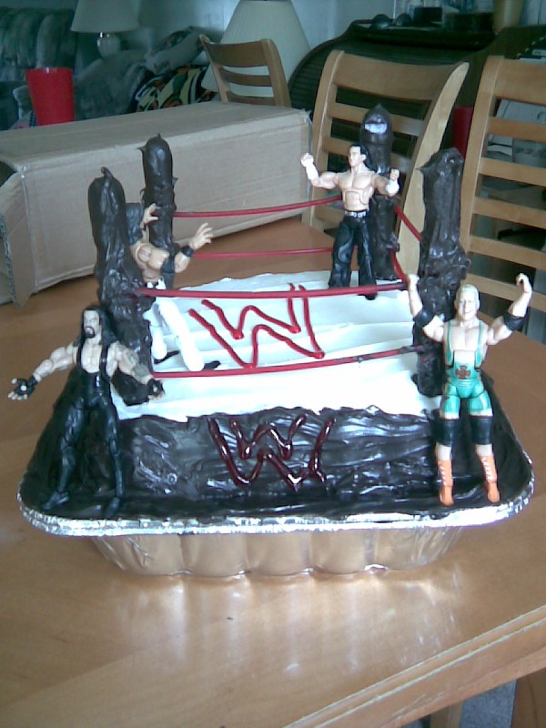 17 best images about my future birthday cakes on for Wwe bathroom decor