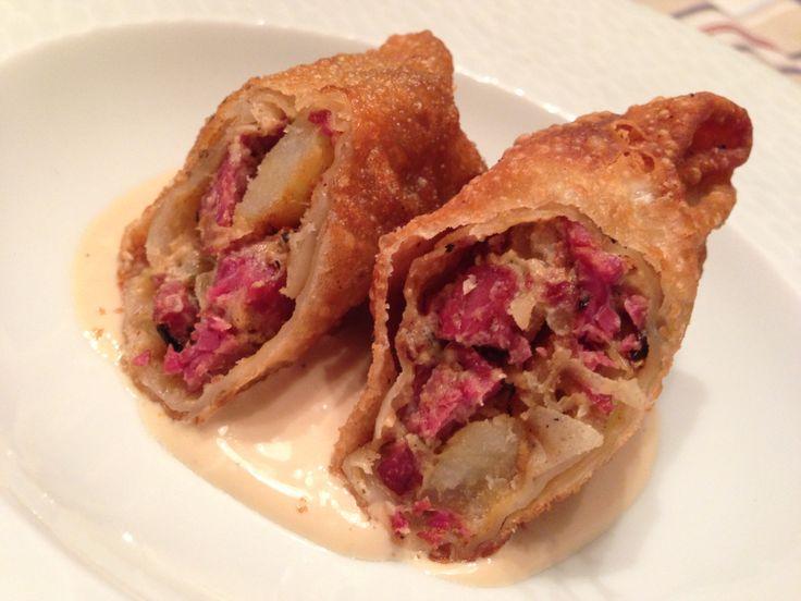 Cornbeef eggrolls | Little Bites | Pinterest | Beef hash ...