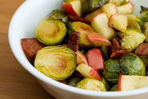 Sauteed Brussels Sprouts with Apples | Side Dish Recipes | Pinterest