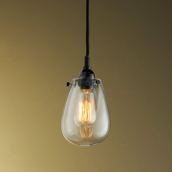 Check out Teardrop Glass Pendant Light from Shades of Light