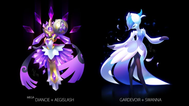 Pokemon fusions from a super talented tumblr artist!
