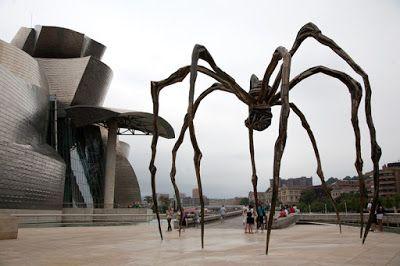 maman, la araña del guggenheim