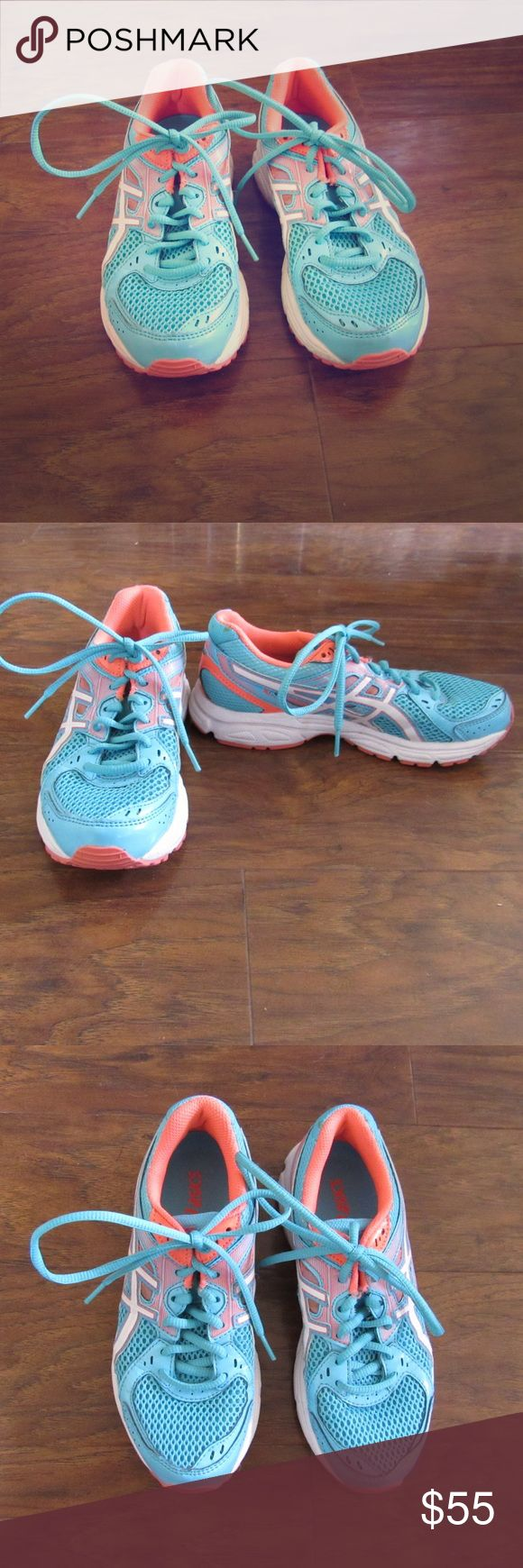 24HR SALE‼️ASICS tennis shoes! ASICS size 6 tennis shoes. Like new condition! Asics Shoes Athletic Shoes