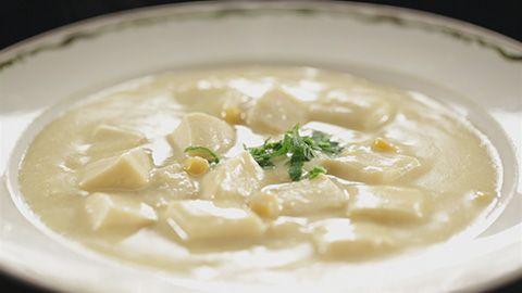 高野豆腐のコーンスープ(4人分)