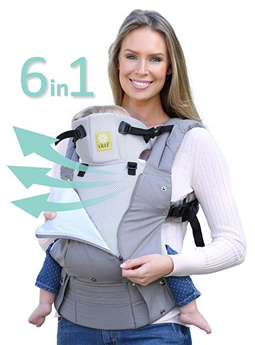 Six-Position, 360° Ergonomic Baby & Child Carrier by LILLE baby - The COMPLETE All Seasons.