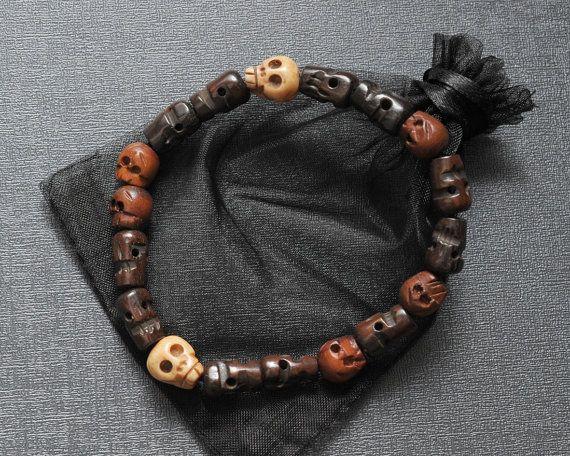 Dean Winchester's skull bracelet Supernatural by Spookyisland