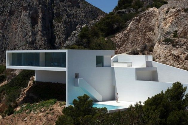 house-on-the-cliff-by-Fran Silvestre Arquitectos house-on-the-cliff-by-fran-silvestre - arqutectos