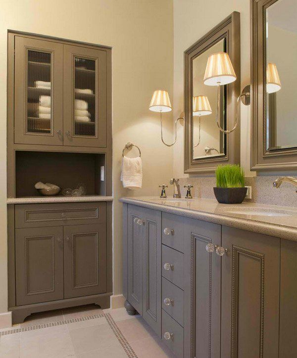 15 Traditional Tall Bathroom Cabinets Design Traditionalbathroom