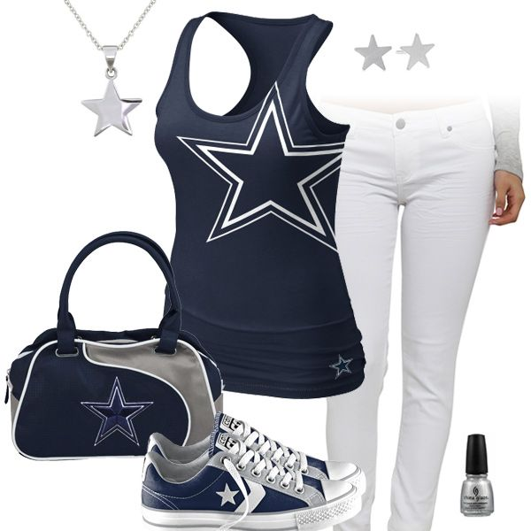 Dallas Cowboys All Star Outfit