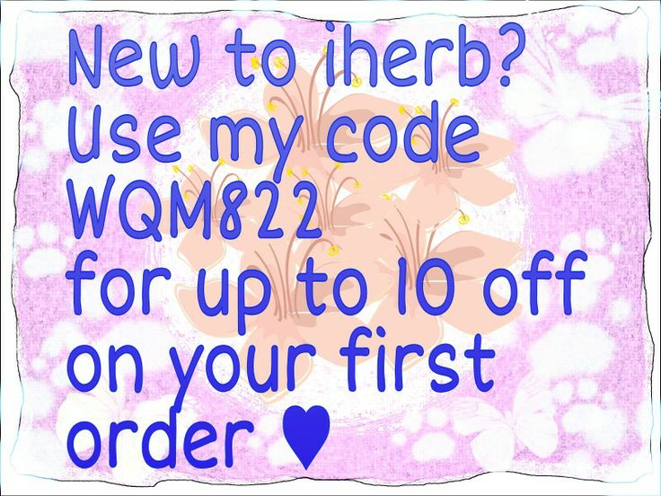 New to #iherb? Use my code WQM822 on your first order and you will get up to 10 off :) If you want to see some of my favorite products,click here: http://bit.ly/1oJtfmn   Have fun :)  #iherbcode #iherb10off #iherbfavorites #healthy #vitamins #hairproducts #skincare #toys #superfood :)