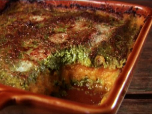 Baked Squash Gratin from FoodNetwork.com. Instead of pureeing I mashed ...