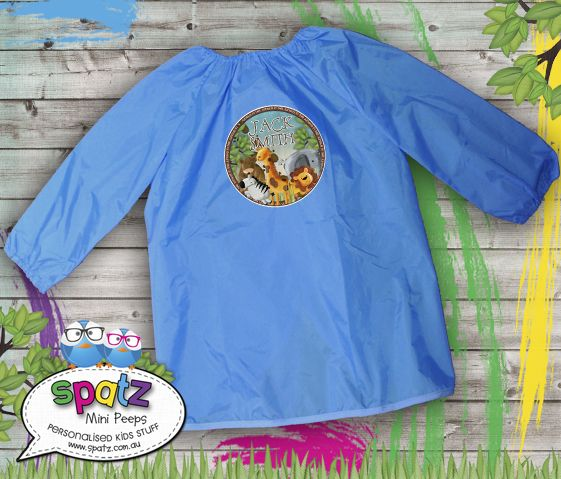 In The Jungle - Personalised Art Smock