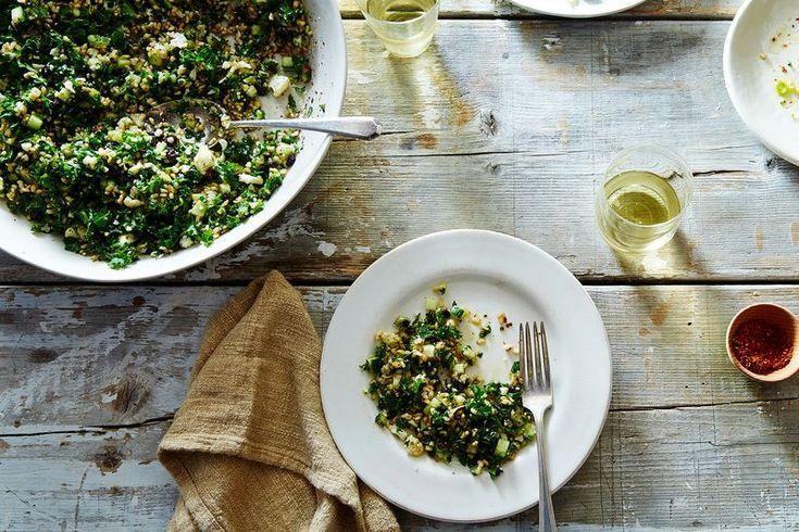 Crispy Rice Salad Recipe