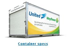 Portable Storage & Moving Containers - Compare Us to PODS ® | United Mayflower Containers