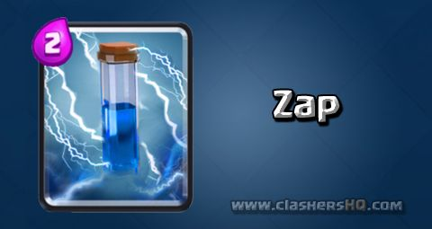 Find all about the Clash Royale Zap Card. How to get Zap & attack/counter Zap effectively.