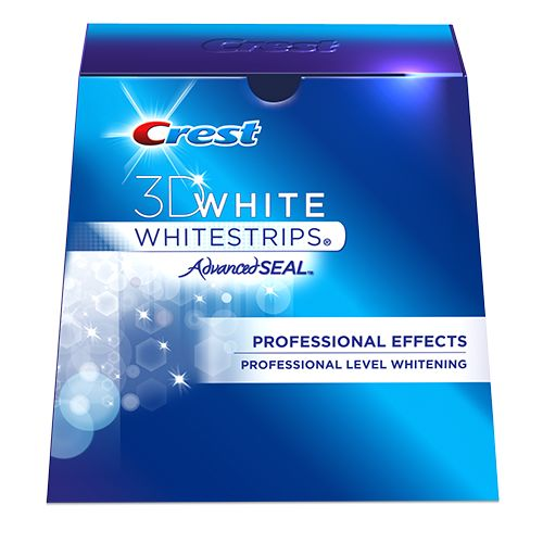 Our Best Teeth Whitening System: Crest 3D White Whitestrips Professional Effects