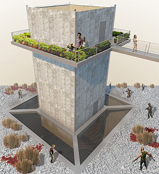 23 best Zombie Proof Housing images on Pinterest | Apocalypse ... Zombie Survival House Designs on zombie proof house, zombie attack house, zombie ready house, zombie proof car, minecraft zombie house, ultimate zombie house, zombie apocalypse house, zombie weapons, zombie house plans, zombies surrounding a house, zombies in house, zombie proof fortress, zombie proof armor, zombie crossbow, zombie house game, cody lundin house, zombie fortress house, mini pool house, zombie protection house, lego zombie house,