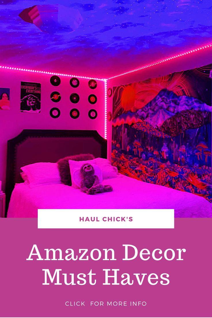 Amazon Decor Must Haves 2021 In 2021 Room Ideas Bedroom Room Inspiration Bedroom Dreamy Room Teenage bedroom ideas amazon