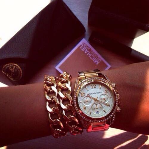 Chain Rule Gold Bracelet