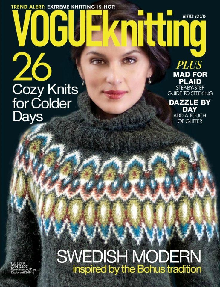 Альбом «Vogue knitting winter 2015/16». Обсуждение на LiveInternet - Российский Сервис Онлайн-Дневников