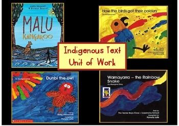 Fully editable Indigenous Text Unit of Work featuring teaching ideas and activities for the Aboriginal Dreamtime stories, Malu Kangaroo, How the Birds Got Their Colours, Dunbi the Owl and Warnayarra - the Rainbow Snake. Ideal for NAIDOC Week activities, in the lead up to NAIDOC celebrations or any imaginative text study. Available from my Teachers Pay Teachers store, Learning for Littlies. https://www.teacherspayteachers.com/Store/Learning-For-Littlies