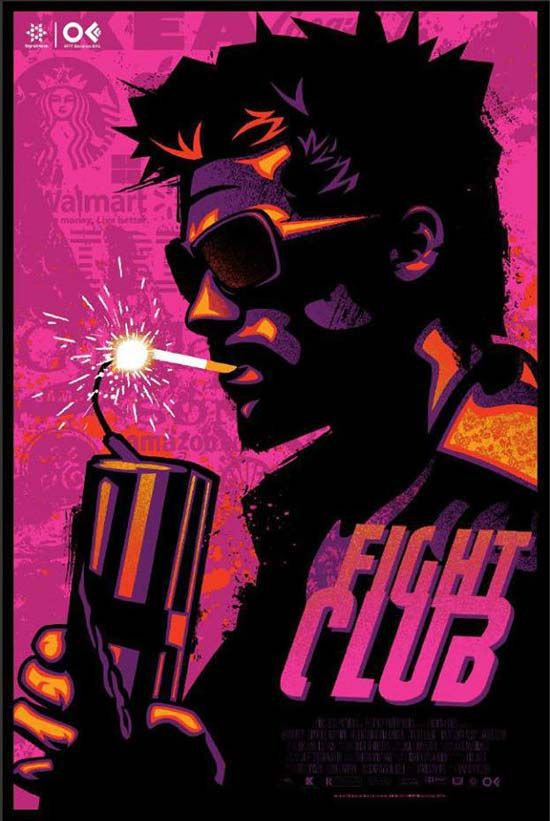 alternative movie poster Fight Club