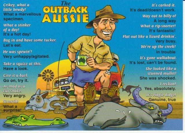how to talk australian slang