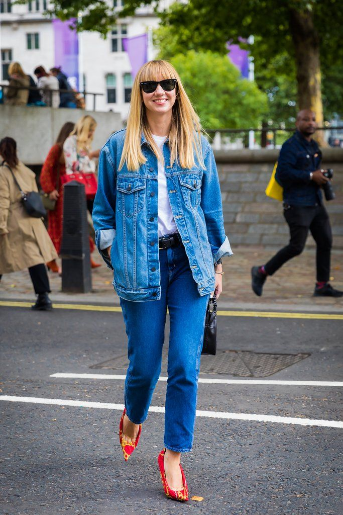 London Fashion Week Street Style Spring 2018 | POPSUGAR Fashion