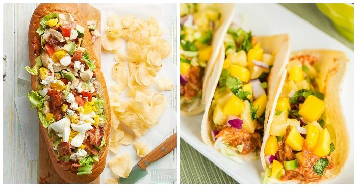 No time for cooking? Grab a rotisserie chicken from the grocery store and make one of these meals in a hurry! These rotisserie chicken recipes involve absolutely no cooking, so you can pull them together super fast. Don't bother with takeout. These meals are faster and healthier! Easy Rotisserie Chicken Meal Ideas Mango Chicken Wraps …
