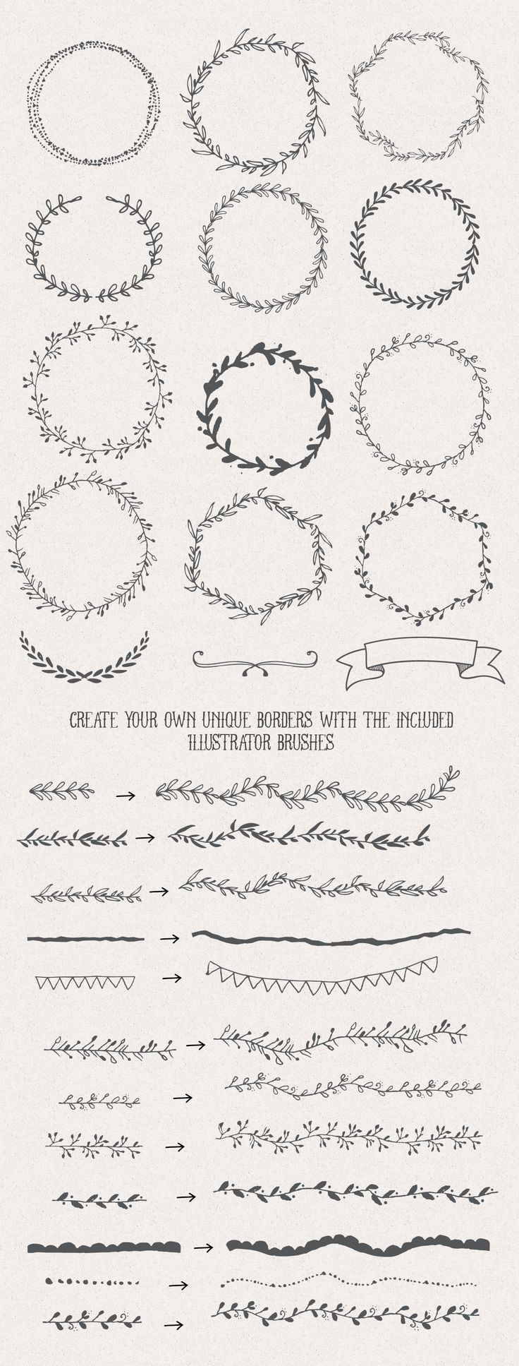 Part of a designers pack - Buy at creative market