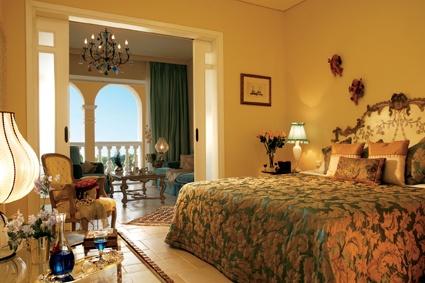 Deluxe Suite master bedroom