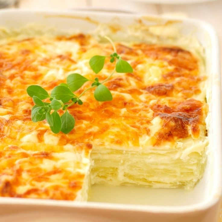 An Easy recipe for delicious lazy perogie casserole, Serve with sour cream.