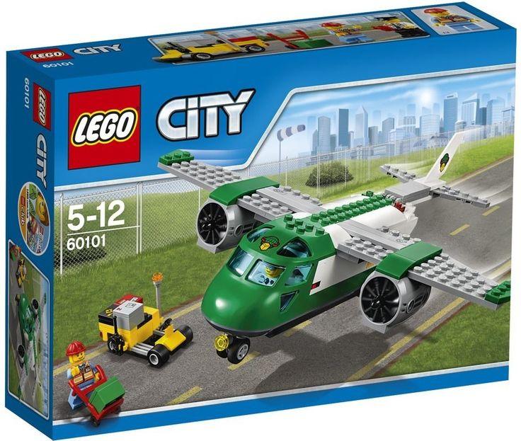 Lego City 60101 Nákladní letadlo - 0