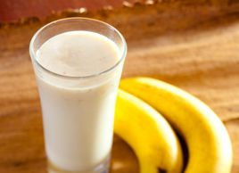 Smoothie banane et beurre d'arachide crémeux | Recettes | Mon assiette | Plaisirs Santé